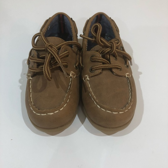 Kids' Clothing, Shoes & Accs Boys Tommy Hilfiger Brown Boat Shoes Infant Size 7.5 Brand New